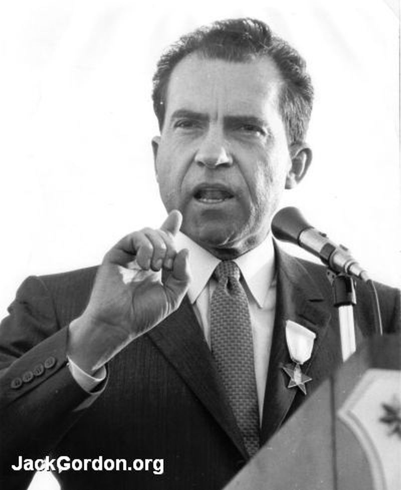 President Richard M Nixon: Presidential Candidate Richard Nixon Visits Seattle And