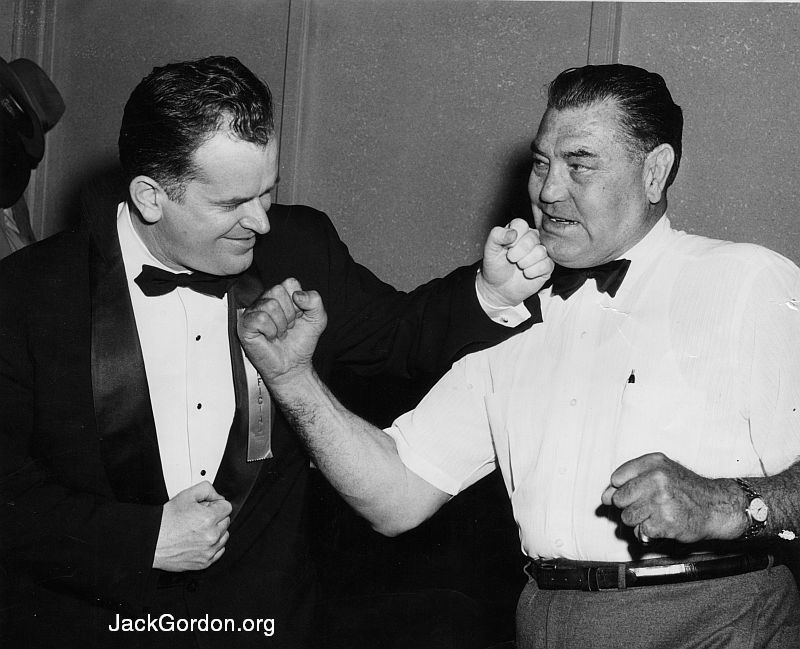Jack Gordon and Jack Dempsey