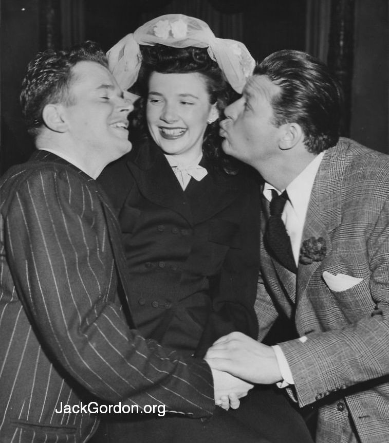 Jack Gordon, Roberta, and Jack Carson