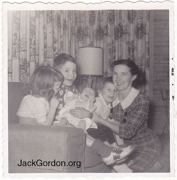 The Gordon Family, 1961